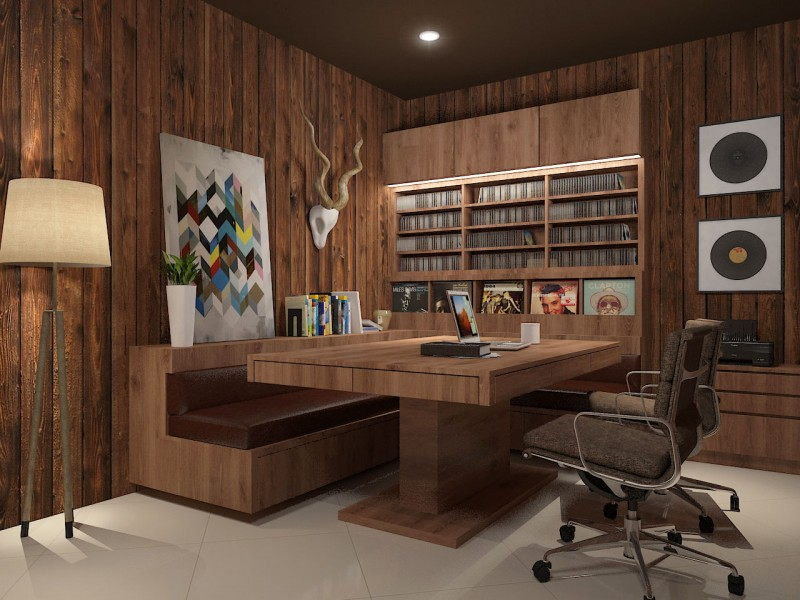 Office, Workstations & Study Room