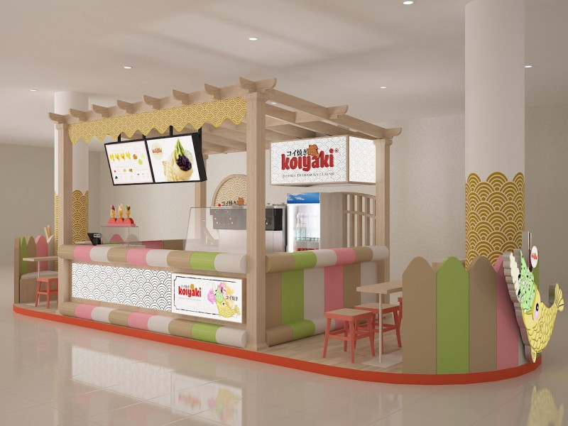 Booth, Kiosk, Stall Designs