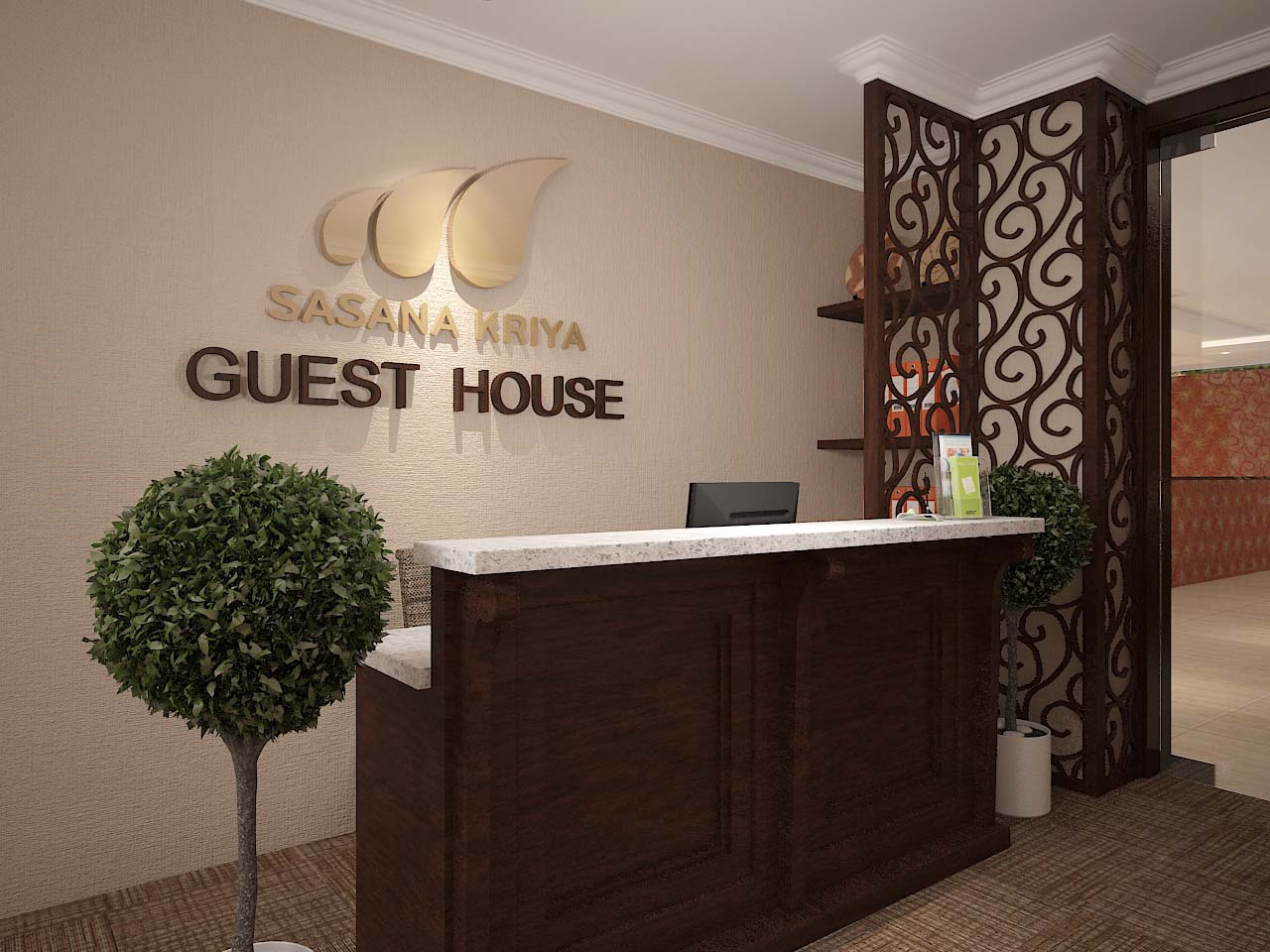 guest house reception_1jpg - Guest House Design