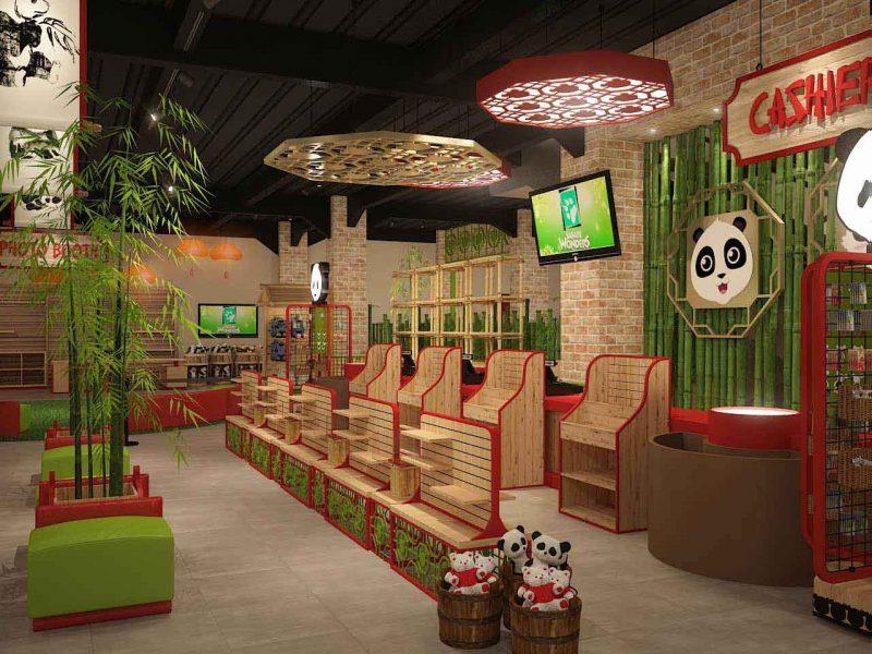 Istana Panda Souvenir Store, Taman Safari Indonesia, Cisarua